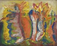 Edmund Kesting: Abstrakte Komposition
