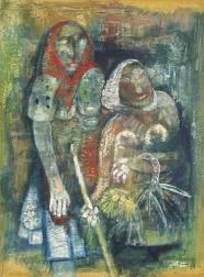 Paul Kuhfuss: Zwei Bäuerinnen