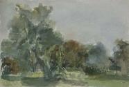 Harald Metzkes: Im Garten