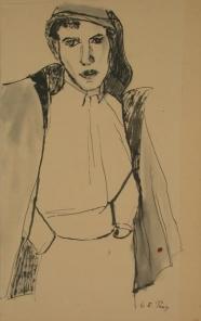 Charlotte E. Pauly: <br />Junger Fischer