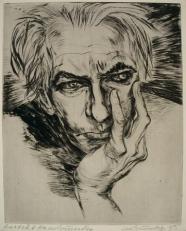 Lea Grundig: Portrait Hans Grundig