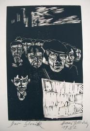 Hans Grundig: Der Streik