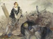 verso: Trümmerarbeiter