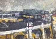 Dächer über Moskau