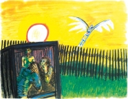 Wolfgang Mattheuer: Der Nachbar, der will fliegen