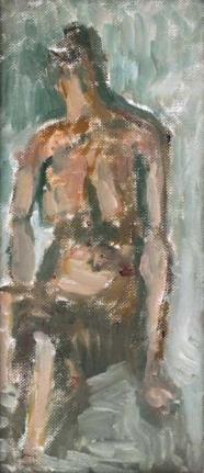 Otto Niemeyer-Holstein: Sitzender weiblicher Akt