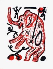 A.R. Penck: Ohne Titel (Elefant)