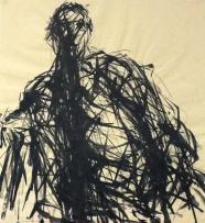 Max Uhlig: Doppelbildnis Sitzende