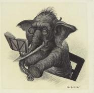 Curt Großpietsch: Musizierender Elefant