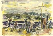 Heinz Lewerenz: Augustusbrücke in Dresden