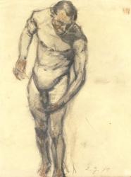 Ludwig Godenschweg: Männliche Aktstudie